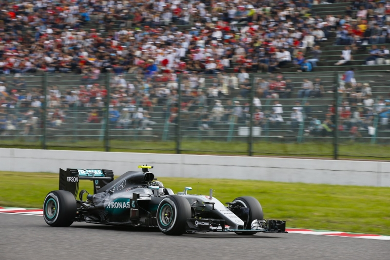 Rosberg Japánban a császár